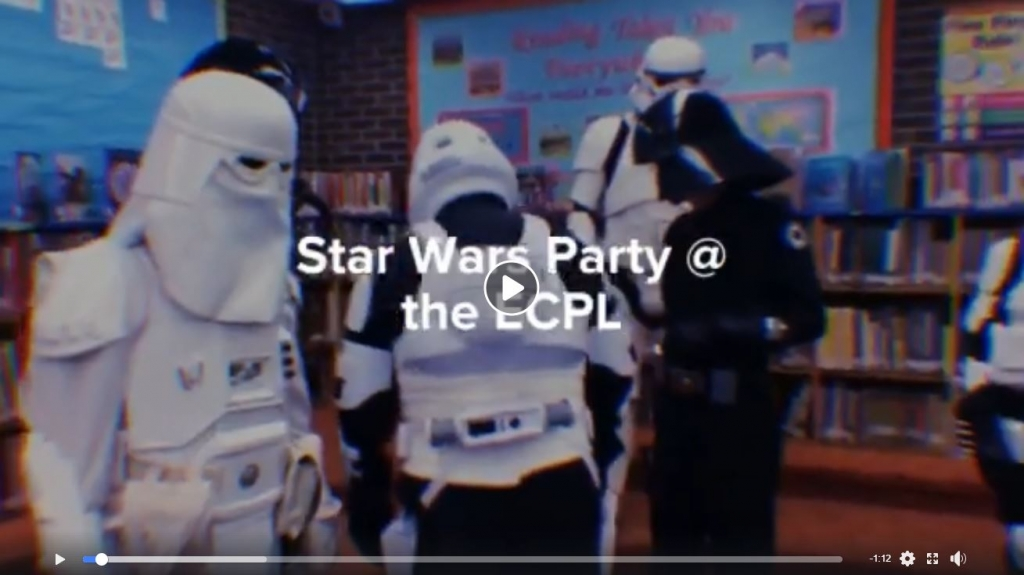 Star Wars Party at East Chicago Public Library
