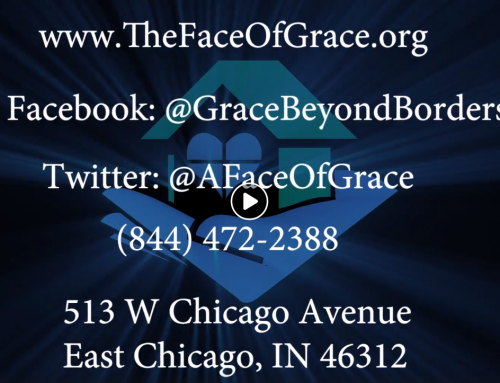 Marcus Martin of Grace Beyond Borders has a Big Announcement for the Face of Grace Campaign!